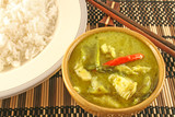 thai green curry poster
