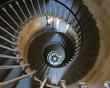 colimaçon escalier du phare des baleines 3