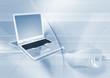laptop und maus