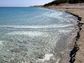 dead sea shore