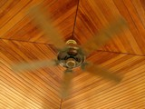 rotating ceiling fan poster