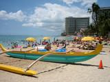 hawaiian canoe 02 poster