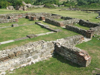 look out on ancient roman archaeological site 2