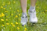 Fototapety woman jogging