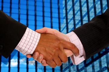 business handshake deal