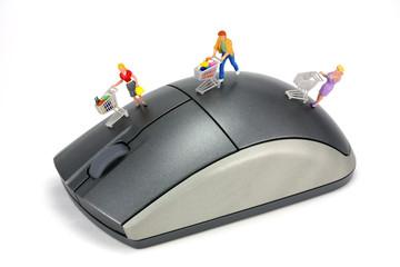 concept: online internet shopping