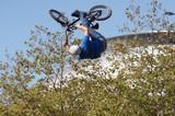 biker airborne poster