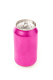 pink blank soda can poster