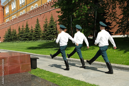 changing guards in kremlin