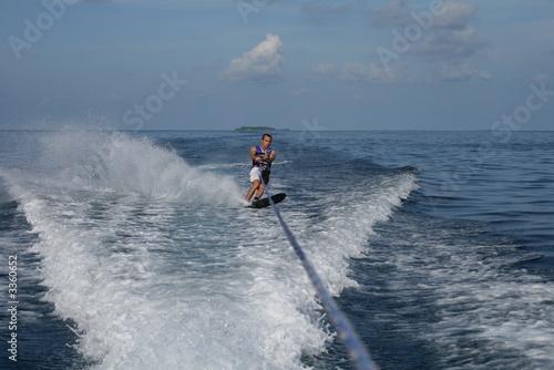 Leinwandbild Motiv water ski