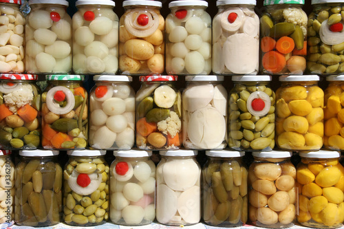 jars of brazilian vegetables