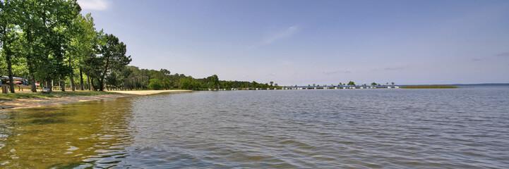panorama sur l'étang
