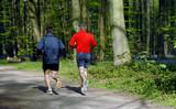 jogging men poster