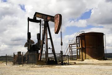 boma de petróleo