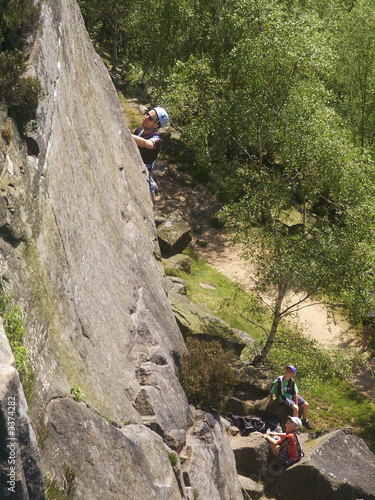 rock climber - peak district