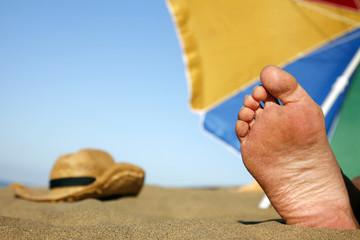 pie al sol