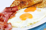 Fototapety bacon and eggs