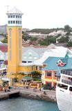 nassau cruise ship pier poster