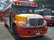orange bus.