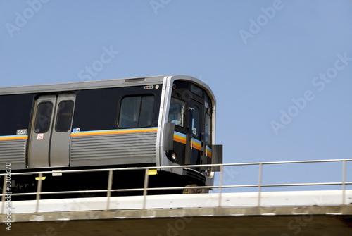 Leinwandbild Motiv rapid transit