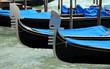 venezia: gondole
