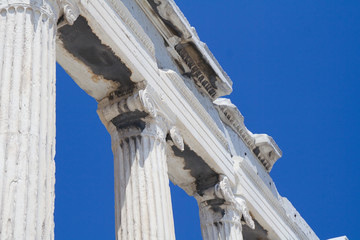 ancient greek columns - ionic