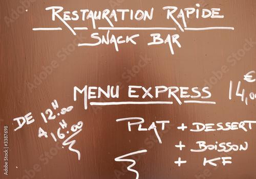 Logo restauration rapide