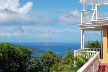 view of carribean islands