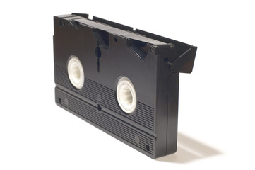 video cassette with film