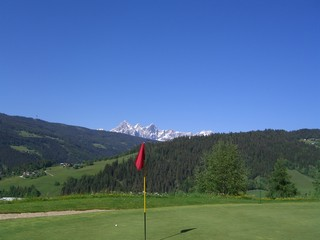 golfcourse in the mountains, golfkurs