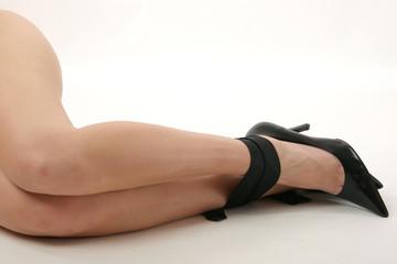 legs in bondage