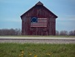 66 il carlinville flag barn