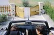 ouverture du portail depuis la voiture - 3403069