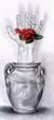 Quadro hand flower vase