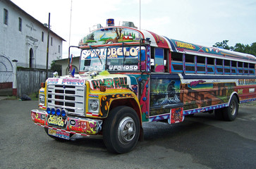 public bus in panama