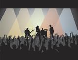 rock concert v poster