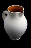 ceramic white jug poster