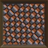 copper tile poster