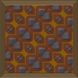 simulated copper tile poster