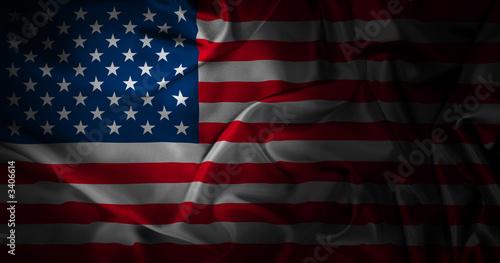 Fotobehang Verenigde Staten silk american flag