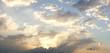 dramatic cloudy summer sky