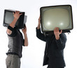 tv man -  television concept