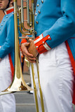 army brass band poster
