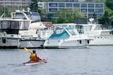 urban kayaking poster