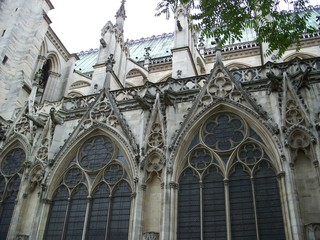 paris - saint-denis - first gothic cathedral