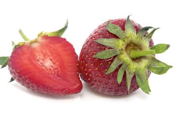 strawberry and slice