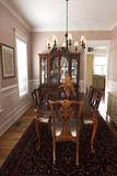 drahé diningroom, zariadený