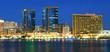twin towers, dubai creek, united arab emirates
