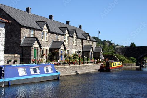 Plexiglas Kanaal canal boats