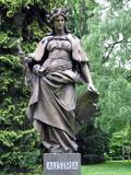 statue of austria poster